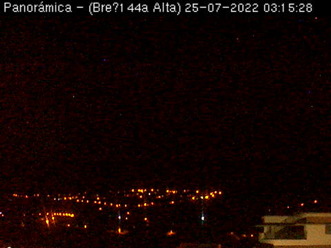 Webcam For The Port Of Santa Cruz De La Palma
